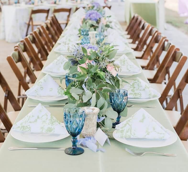 Photo of event table decoration